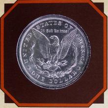 Lot 57: 1884D MORGAN silver dollar - PCS Legends of West Coin & Stamp - KIT CARSON