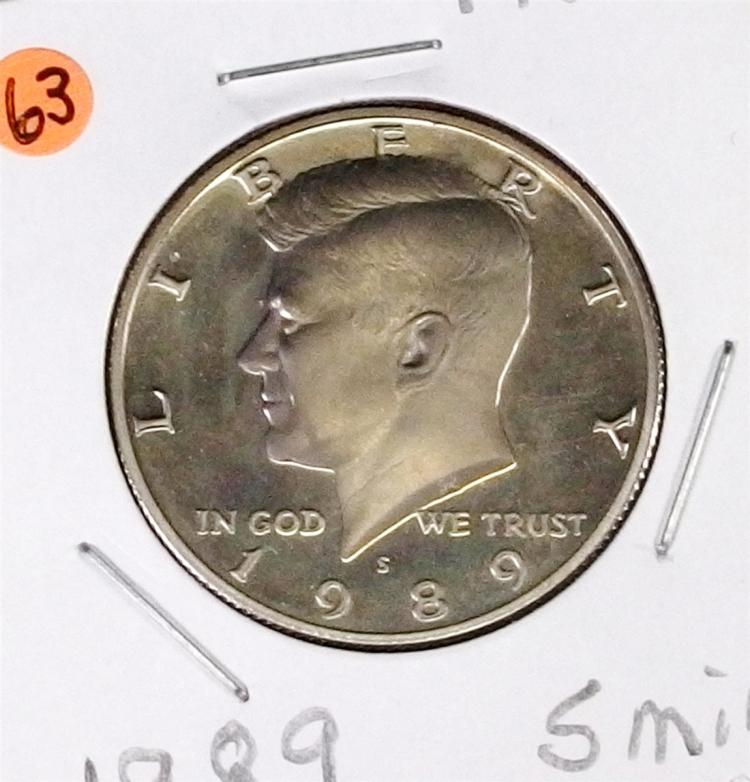 Lot 63: S Mint KENNEDY Half Dollar