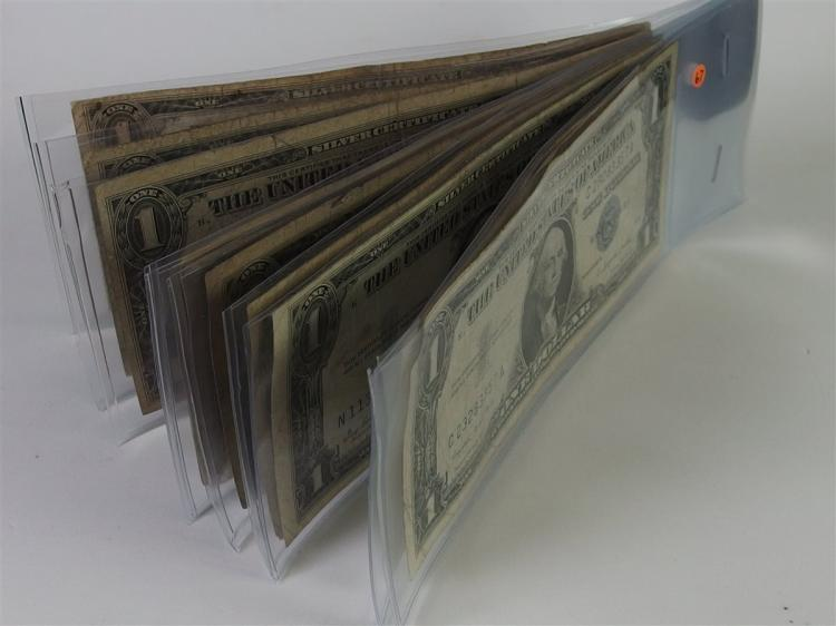 Lot of 10 - Silver Certificates, Mixed Mints and Dates