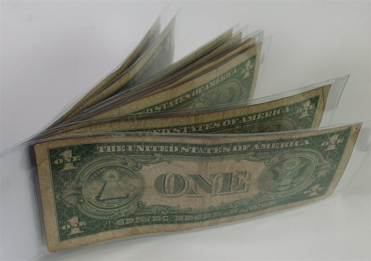 Lot 67: Lot of 10 - Silver Certificates, Mixed Mints and Dates