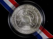 Lot 81: 2002 90% Silver Dollar Honoring West Point
