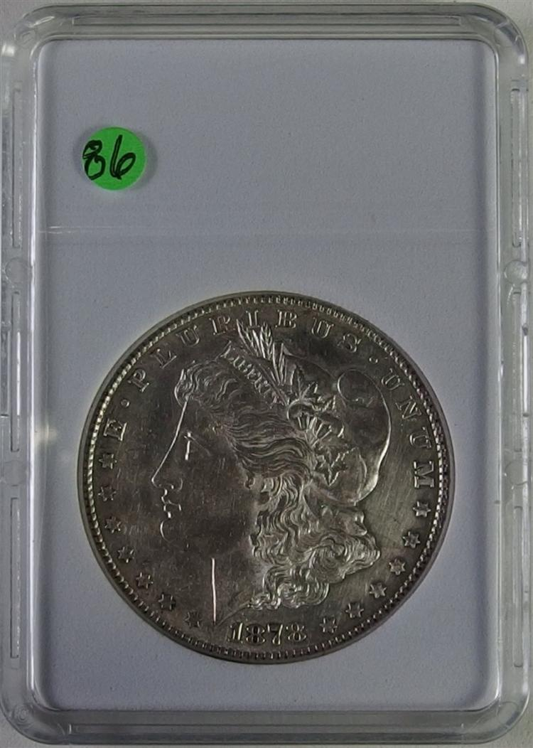 1878-S MORGAN Silver Dollar AU