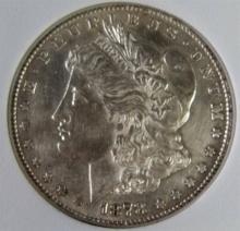 Lot 86: 1878-S MORGAN Silver Dollar AU