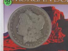 Lot 95: 1883-CC Carson City MORGAN Silver Dollar