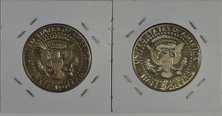 Lot 103: 2 Proof S Mint KENNEDY Half Dollars