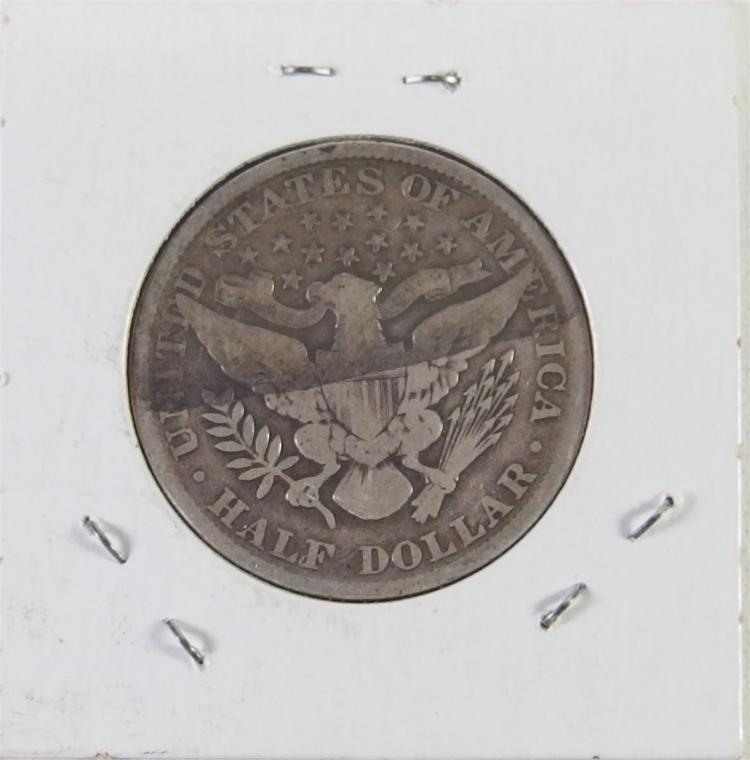Lot 124: 1901 BARBER Half Dollar