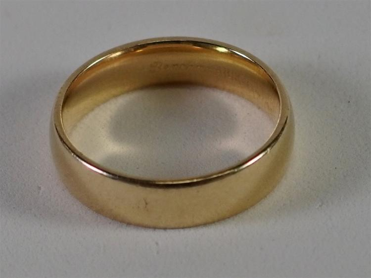 14K Gold Wedding Band 7.6 gram