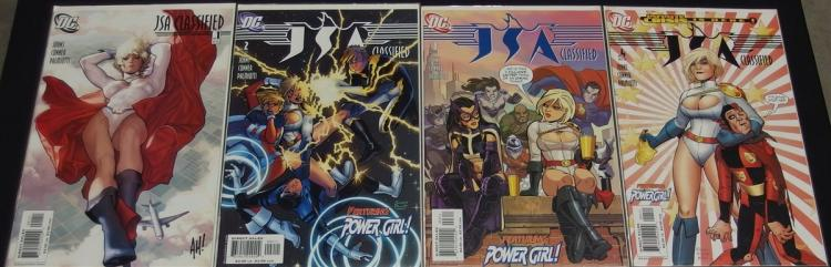 Lot of 13 - Mint Issues of JLA & JSA Comics