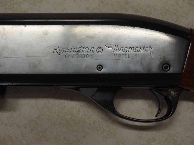 Lot 8B: REMINGTON Wingmaster Model 870 12ga Shotgun, 2-3/4in. Shells