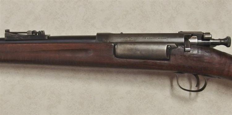 Lot 8F: 1898 SPRINGFIELD 30-40 Krag Rifle, Sporterized