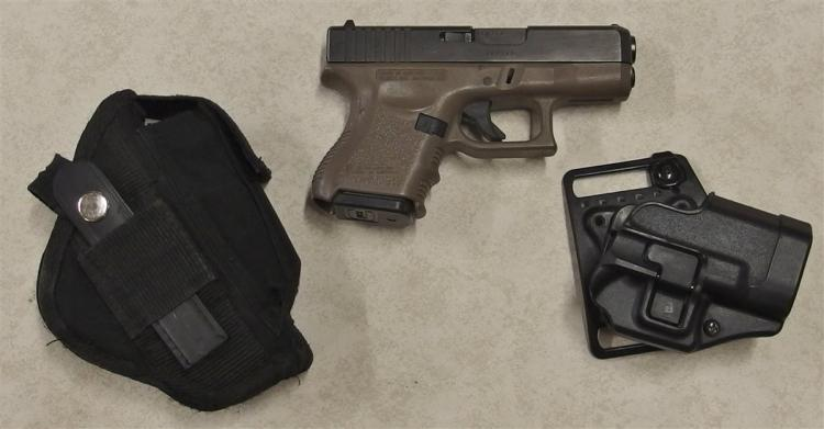 GLOCK Model 27 .40cal Pistol with Nylon Holster