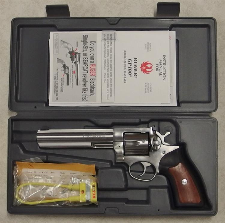 RUGER GP100 .357 mag Stainless Model KGP-161 Revolver