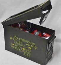 Lot 8P: 100+ 12ga Shotgun Shells Plus Ammo Box