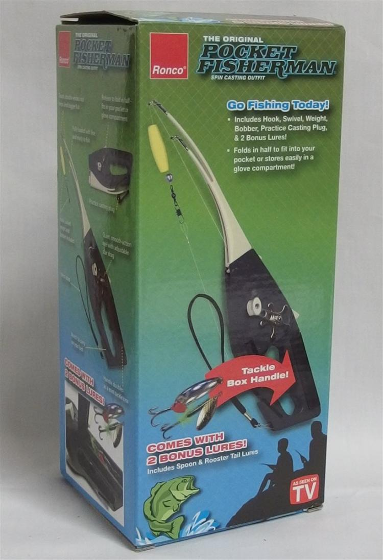 RONCO Pocket Fisherman New in Box