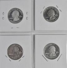 Lot 137: Statehood Quarters 90% Silver Proof Set of 4