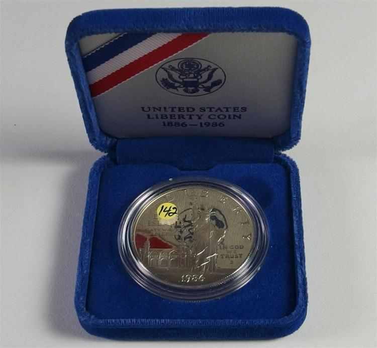 USA LIBERTY 90% Silver Dollar Proof