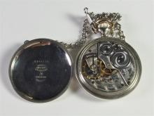 Lot 145: Vintage Pocket Watch with Chain, Working