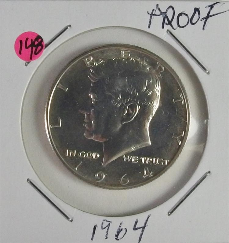 1964 KENNEDY Half Dollar Proof