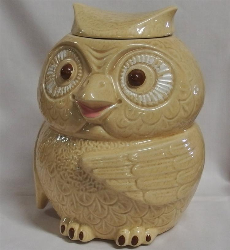 McCoy USA Owl Cookie Jar