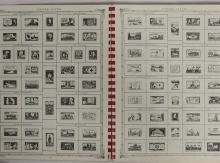 Lot 157: Vintage 1967 Stamp Book with Stamp Collection
