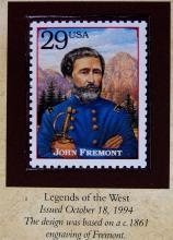 Lot 165: 1890 MORGAN Silver Dollar - PCS Legends of West Coin & Stamp JOHN FREMONT