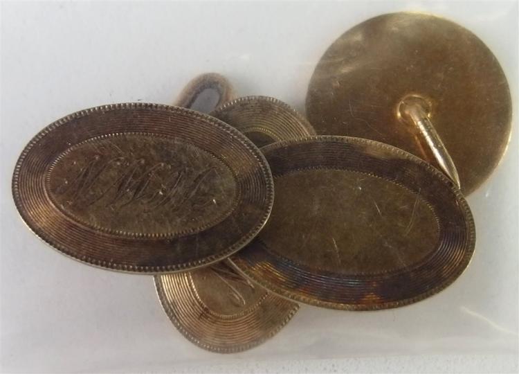 Lot 168: 14K Gold 8.0 grams