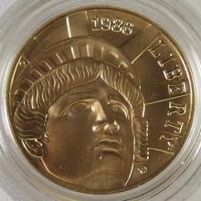 Lot 177: 1/4 Ounce ($5) Five Dollar Gold Coin 100th Anniversary Statue of Liberty