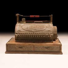 Vintage American National Cash Register