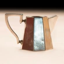 Early 20th Century Art Deco Sterling Silver Creamer