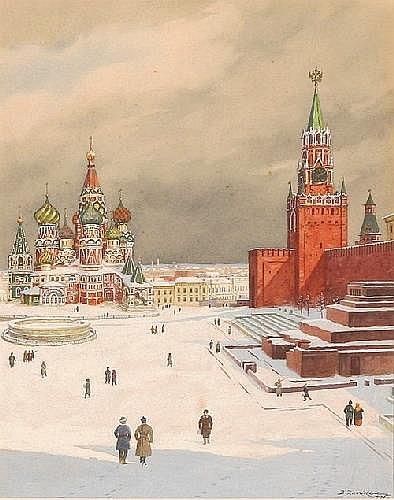 BORIS VASILIEVICH ZVORYKIN (RUSSIAN 1872-1932),