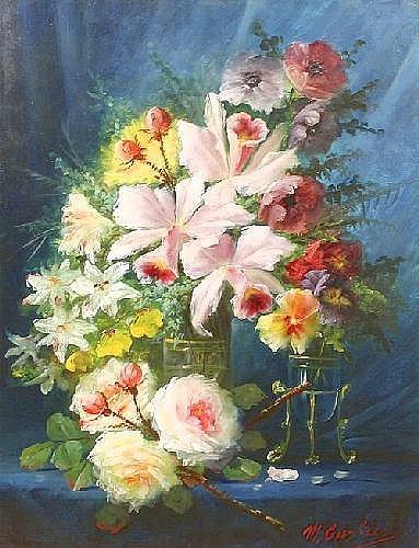 MAX CARLIER (BELGIAN 1872-1938),