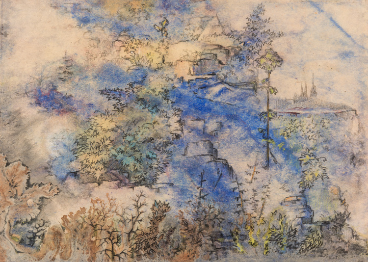 ABSTRACT LANDSCAPE BY TARKHANOV, 1941