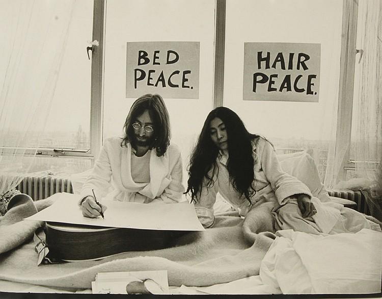 TONY GRYLLA (B. 1941), 'Hair Peace Bed Peace '