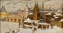 FOLLOWER OF APOLLINARY MIKHAILOVICH VASNETSOV (RUSSIAN 1856-1933)