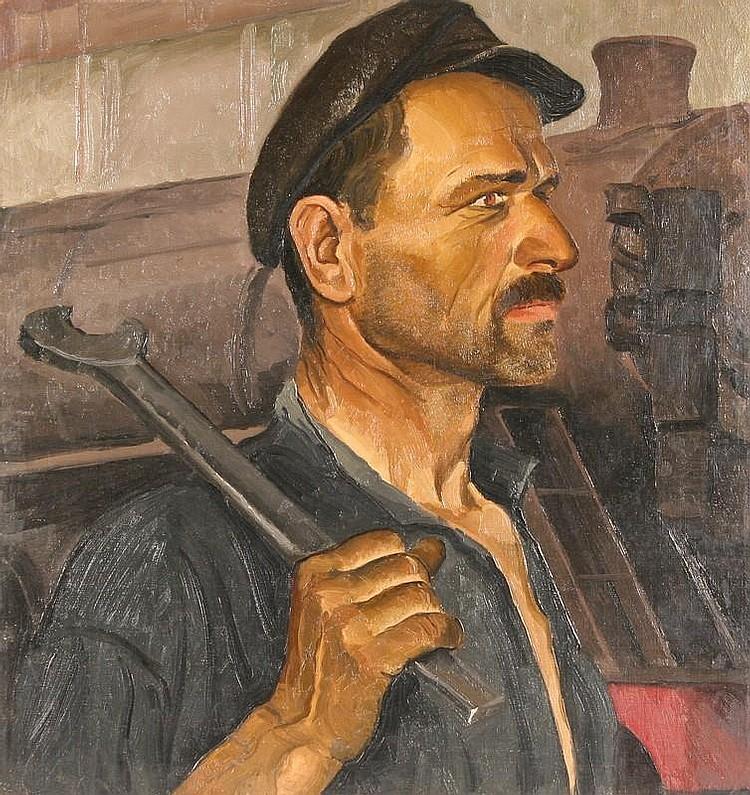 NIKOLAI STEPANOVICH TROSHIN (RUSSIAN 1897-1990),
