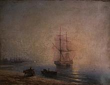 ATTRIBUTED TO IVAN KONSTANTINOVICH AIVAZOVSKY (RUSSIAN 1817-1900)