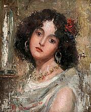 ANTONIO MANCINI (ITALIAN 1852-1930)
