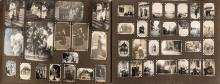 PHOTO ALBUM WITH APPROXIMATELY 1,700 PHOTOGRAPHS PERTAINING TO THE ROMANOV FAMILY