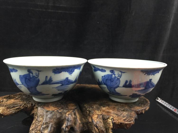 A Pair of Chinese Porcelain Bowl