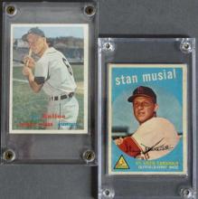 Two Star Topps Baseball Cards