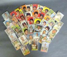 21 - 1954 Bowman and 22 1954 Topps Baseball Cards
