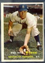 1957 TOPPS Baseball Card