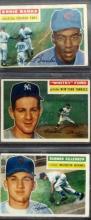 3 - 1956 TOPPS Star Baseball Cards