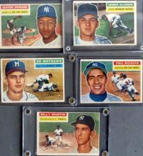5 - 1956 TOPPS Baseball Cards