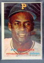 Bob Clemente Baseball Card