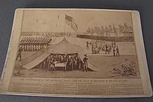 Cabinet Card Mormon Extermination Ca. 1838