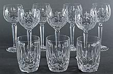 10 Pieces Crystal by Waterford