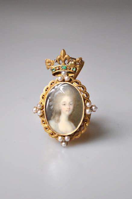 CAMPANA Ignace Jean Victor (Turin, 1744-Paris, 1786), attribué à - Portrait
