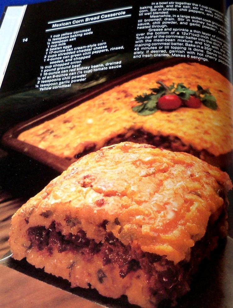 Lot Vintage Cookbook Better Homes Garden One Dish Meals Cook Book 1981