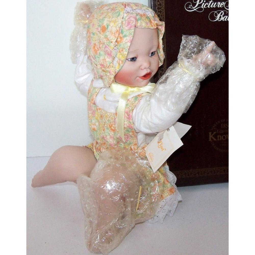 Ashton Drake Doll Lisa Porcelain Doll Yolanda Bello Picture Perfect
